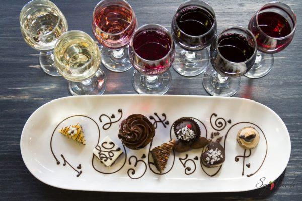 Wine and Chocolate pairing